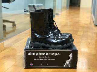 KnightsBridge Gothic steel boots Underground