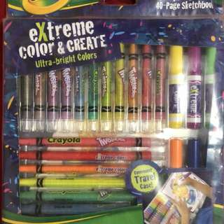 Crayola ( extreme colour and create)