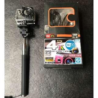 WIFI 4K 運動攝影機 防水 1920X1080 非SJCAM SJ4000 HERO GO PRO