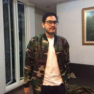 Jaket Army New