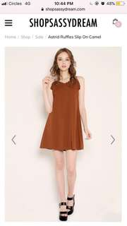 Instock camisole minimalist dress