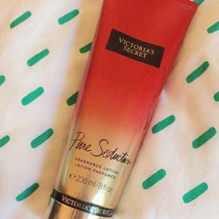 Victoria's Secret pure seduction body fragrance lotion