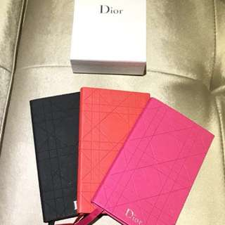 Dior Notebook (3 colours to choose from)