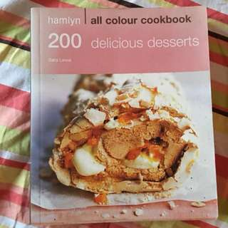 Sara Lewis Dessert Cookbook