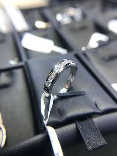 33pt. diamond ring 18k white gold