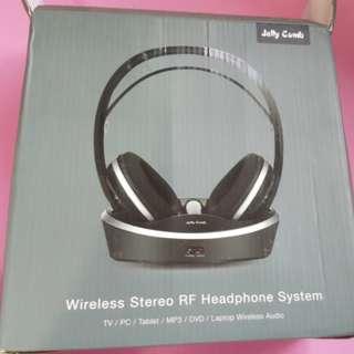 Wireless Stereo RF Headphone