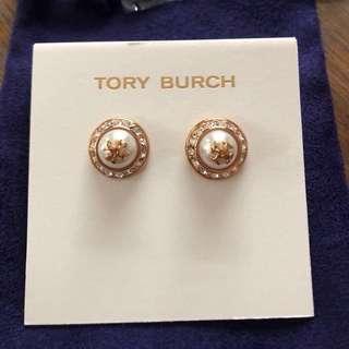 Tory Burch Nathalie Stud Earrings Original Authentic