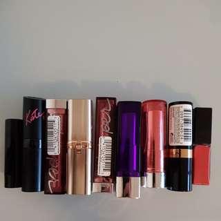 Lipstick bundle (lot of 9)