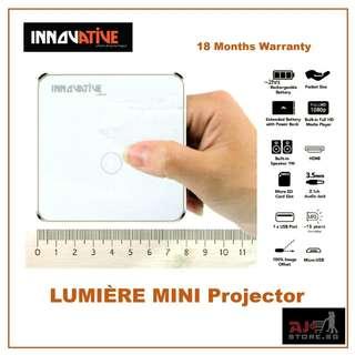 Innovative LUMIÈRE Mini Projector