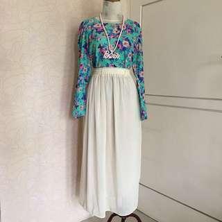 flower top + skirt (TAKE ALL)
