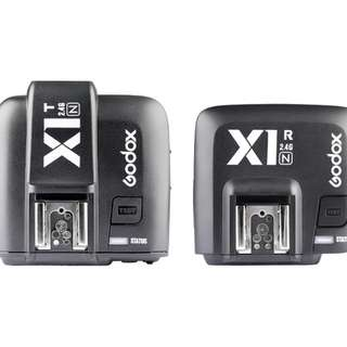 Godox X1N TTL Wireless Flash Trigger Set for Nikon