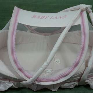 Preloved Baby Land Baby Bed / Cradle Mosquito Net