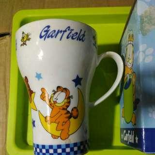 加菲貓系列 GARFIELD 全新 水杯 附原裝盒