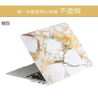 蘋果筆記本保護殼mac book pro air11 12 13 15寸電腦外殼大理石