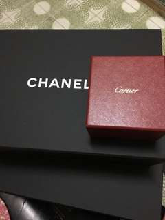 Chanel. Cartier盒子