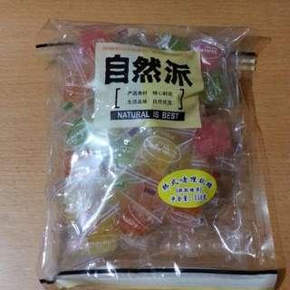 自然派韓式啫喱軟糖大包裝