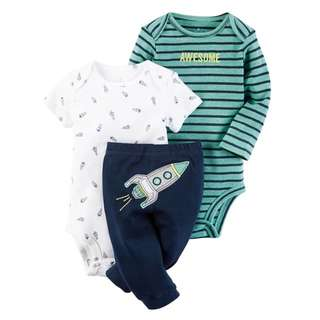 Set 3 pcs Jumper Bayi Size 12M