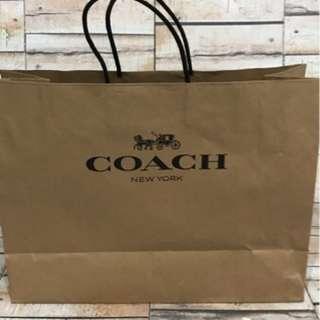 Coach Medium Shopping Back Original Authentic