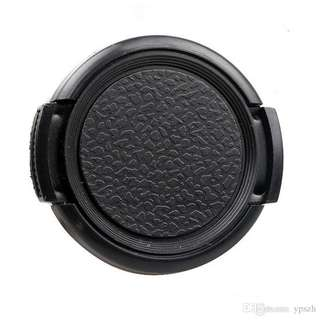 37mm Front Lens Centre Pinch Snap-On Hood Cap Cover