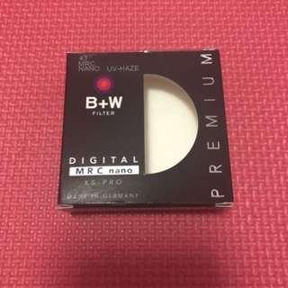 B+W Filter 43mm UV Nano