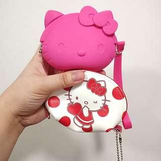 Hello kitty set! Coin purse