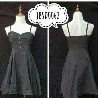 Black mini dress.  Small