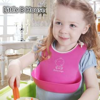 Baby bib slicon w/proof baby bib