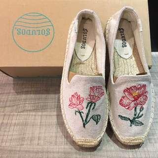 Soludos草編鞋