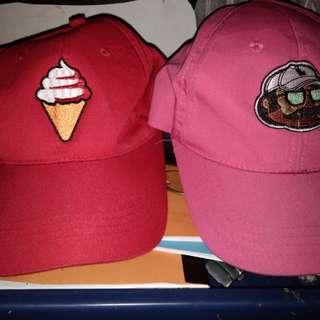 ICE CREAM AND LEAF HAT