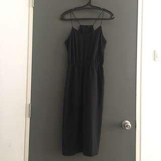 [Size M] H&M Black Dress
