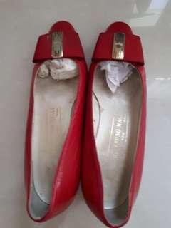 Heels Bruno (4-5cm) - Red