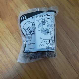 McDonald's Happy Meal Snoopy Joe Cool Stamper Toy