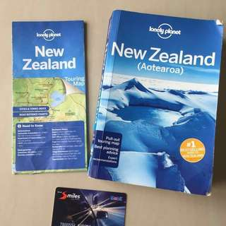 Latest edition of New Zealand Lonely Planet