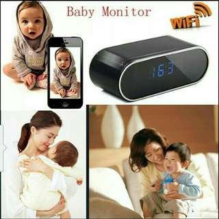 Hidden camera with clock function Wi-Fi  Networks.