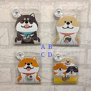 SHIBANBAN柴犬和紙貼紙包