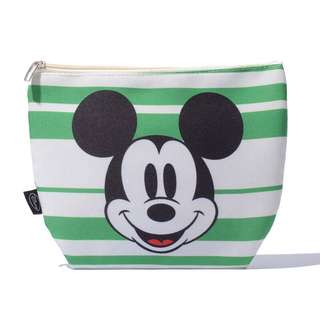 Mickey Mouse Green Small Pouch