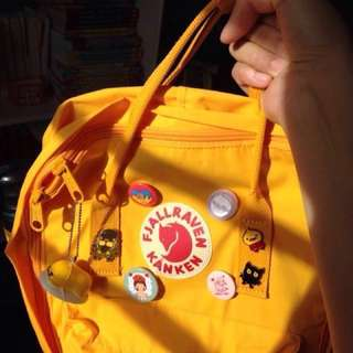 Authentic Warm Yellow Classic Kanken