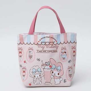 My Melody Tote Lunch Small Zip Bag