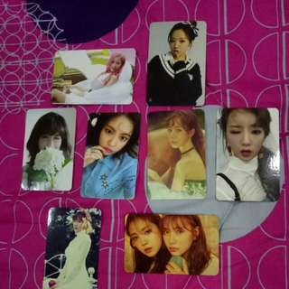 APINK OFFICIAL PHOTOCARD