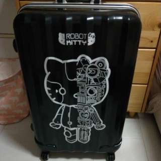 Hello Kitty Robot Luggage 28""