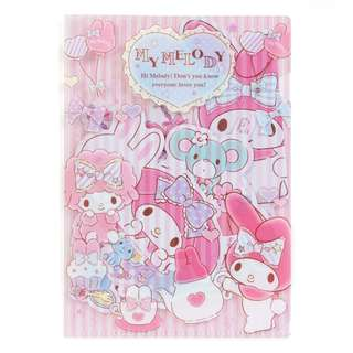 Japan Sanrio My Melody Decoration Sticker