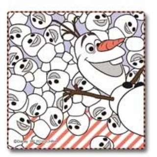 Olaf 毛巾 全新 2015 日本 7-11 Frozen 抽獎 F賞,超罕有