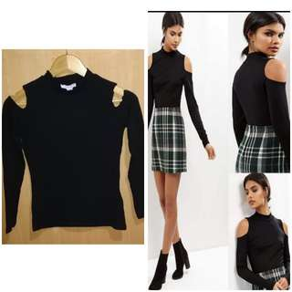Cut Sleeves Pullover