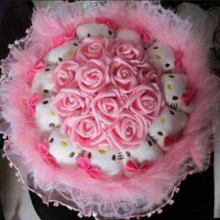 *Last instock Hello Kitty Bouquet flowers *Brand new *pm if int