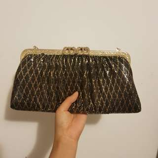 High Quality Gold Clutch