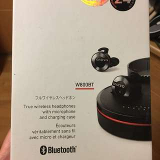 ONKYO 安橋 W800BT Wireless Bluetooth 無線藍牙耳機