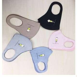 🚚 瑜珈立體防護口罩(可清洗)有五色 環保過濾材質輕盈超薄設計呼吸無負擔顯小臉型易清冼循環使用