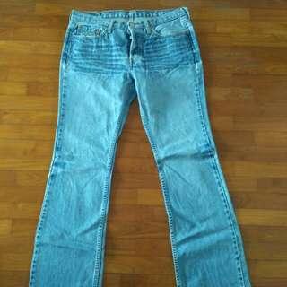 Levis 599 jeans w30