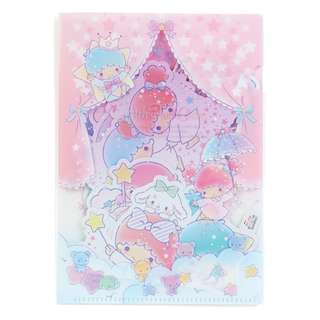 Japan Sanrio Little Twin Stars Decoration Sticker
