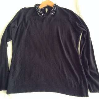 Black PROMOD knitted top